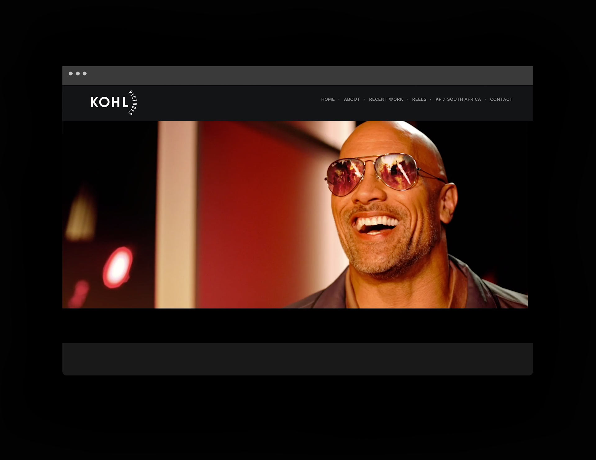 Mark Kohl web design